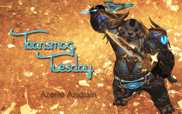 Transmog Tuesday - Azzerite Assassin Set