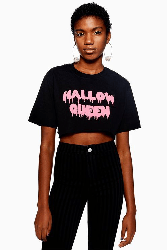 Hallow Queen Cropped top from Topshop