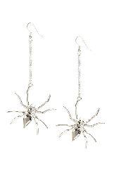 Spider earrings from Primark