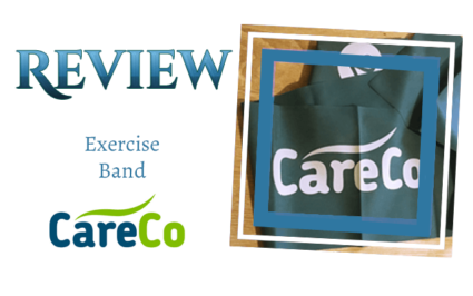 Review - Exercise Band by CareCo: the discount mobility experts