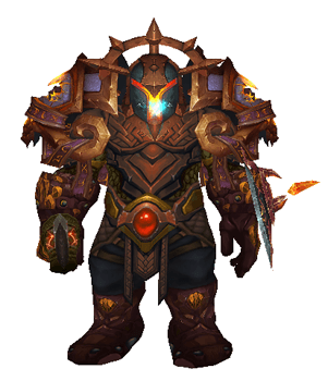 Lightsworn Paladin of the Val'kyr Transmog Set - Front View