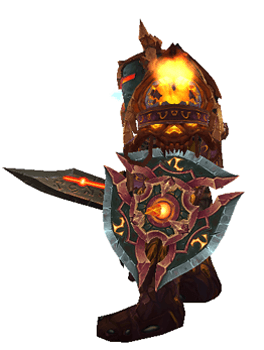 Lightsworn Paladin of the Val'kyr Transmog Set - Side View