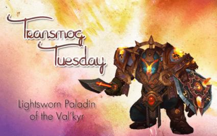 Lightsworn Paladin of the Val'kyr Transmog Set