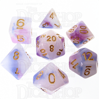 Jade Opalescence Blue & Purple dice from The Dice Shop Online