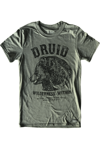 Druid DnD T-shirt from Gamertee