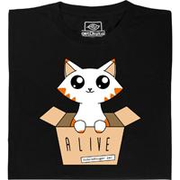 Schrödinger's Cat Glow in the Dark T-Shirt from getDigital
