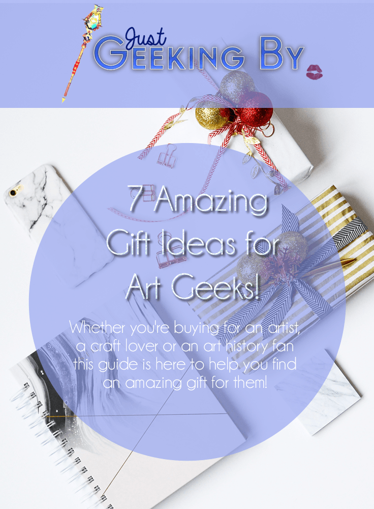 Pin This! Whether you're buying for an artist, a craft lover or an art history fan this guide is here to help you find an amazing gift for them!