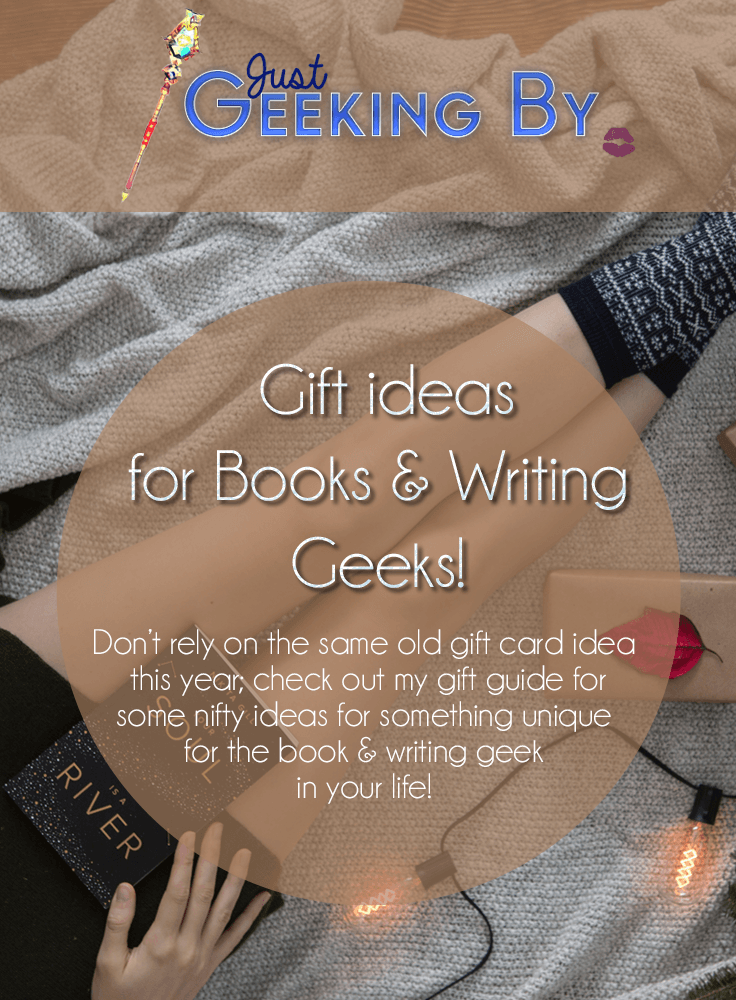 Pin This - Get something truly unique for your book & writing geek that isn't necessarily a book and watch them open it with joy this holiday season!