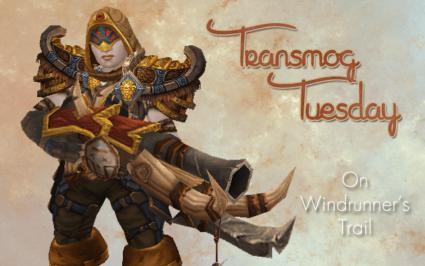On Windrunner's Trail #TransmogTuesday [Alliance Hunter]