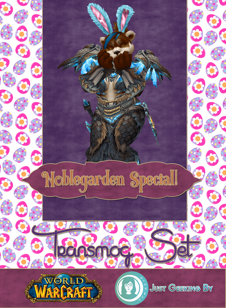 Pin This! It's time to shake your bunny maker with this week's Transmog Tuesday as we celebrate Noblegarden with some holiday appropriate sets!