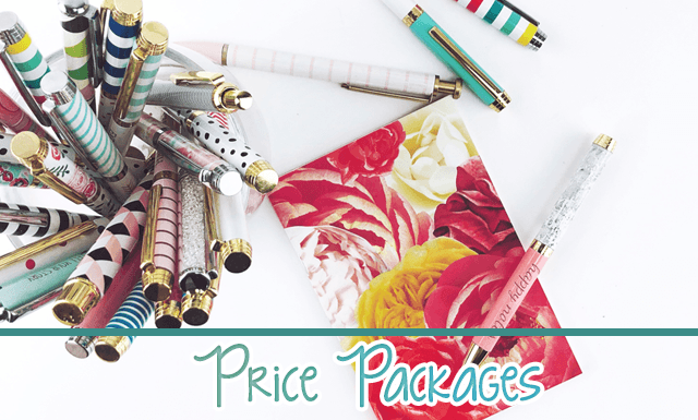 Work With Me - Price Packages