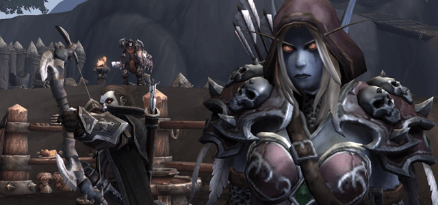 As Sylvanas' champion in life and undeath Nathanos is always ready to carry out his Dark Lady's bidding.