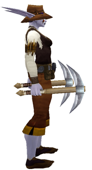 Expedition Ready: Leather Explorers League Transmog Set - Side View