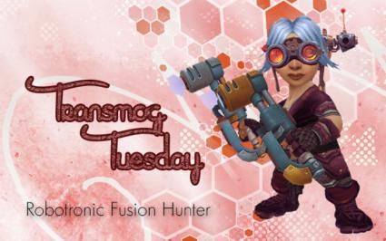 Robotronic Fusion Hacker - Plate engineer Transmog Set #TransmogTuesday