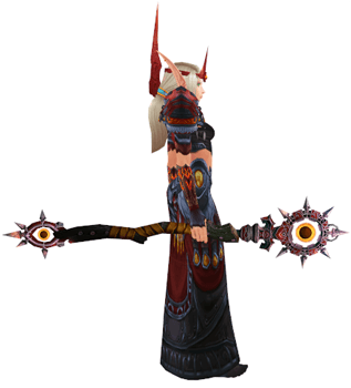 Unspeakable Madness transmog set - side view