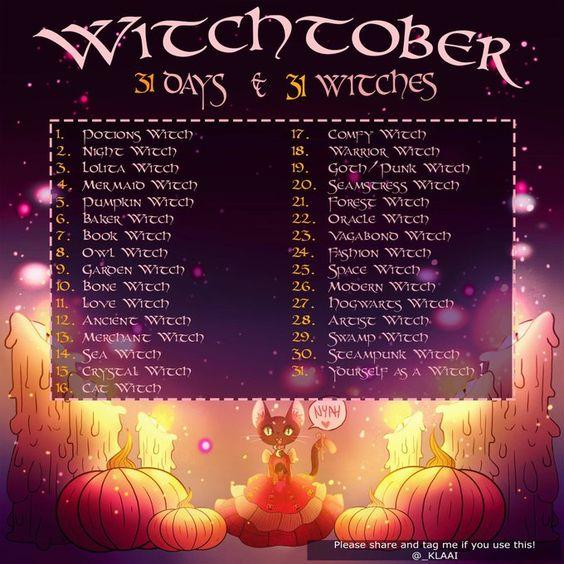 _Klaai's Witchtober