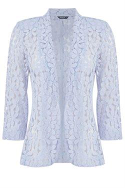 Light Grey Petal Lace Jacket