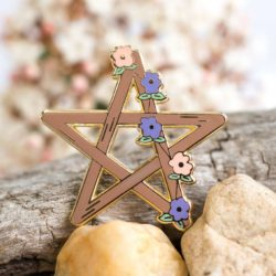 Pentagram Enamel Pin