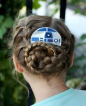 Star Wars R2D2 Inspired Hair Comb