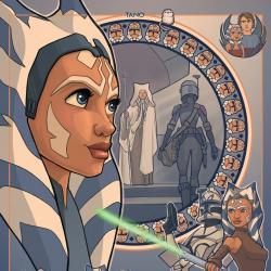 Star Wars 'When People Need You' Ahsoka Tano Print