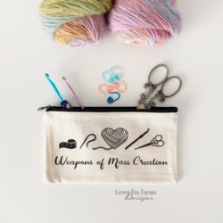 Weapons of Mass Creation Zip Pouch
