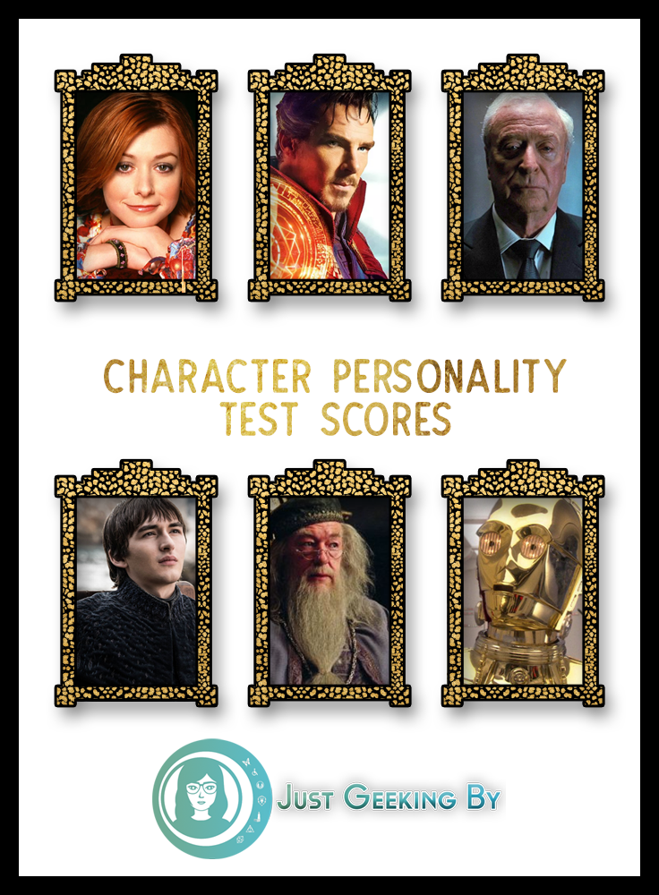 Pin This - I'm sharing my character personality test scores with you, discussing the results and asking you to weigh in your opinion on the fandoms I'm not familar with.