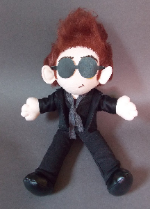 Good Omens Crowley Plushie