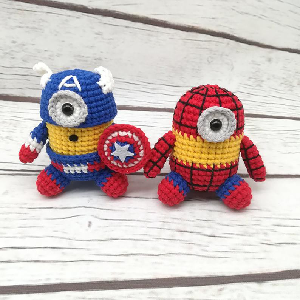 Despicable Me Marvel Minion Hereos