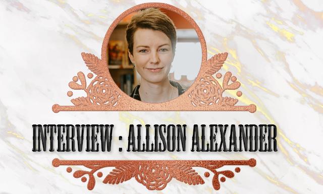 Geekdis Interview with author Allison Alexander. null