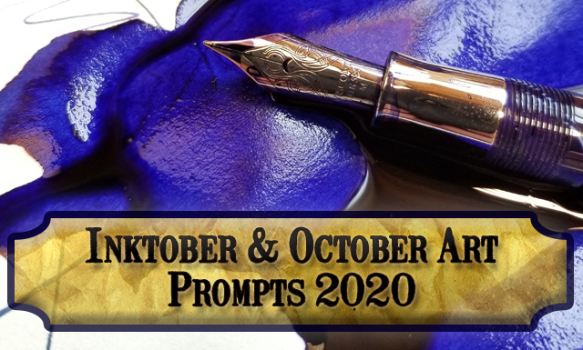 Inktober and October Art Prompts for 2020