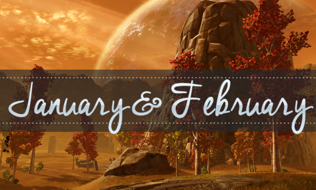 Geeking by in January & February: Monthly Update