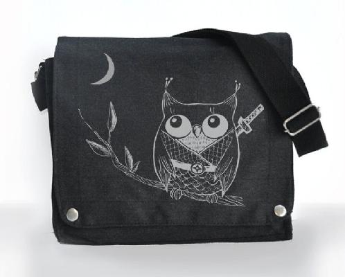 Owl Ninja messanger bag by namu