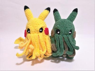 Pikachu Cthulhu Toy