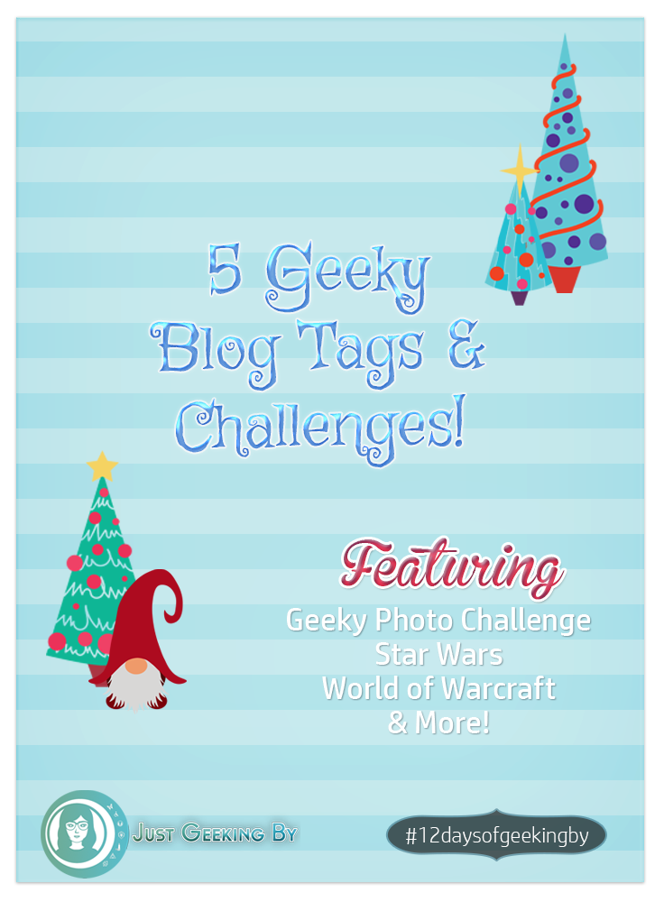5 New Blog Tags & Challenges!