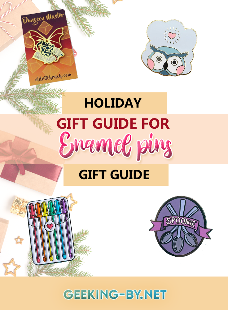 Give the gift of expression with enamel pins!: This gift guide for enamel pins offers you the chance to give them a lovely gift that also gives the gift of expression and support to those you love!