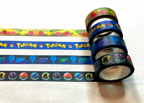 Pokemon Go Washi Tape by WishiwashiWonderShop