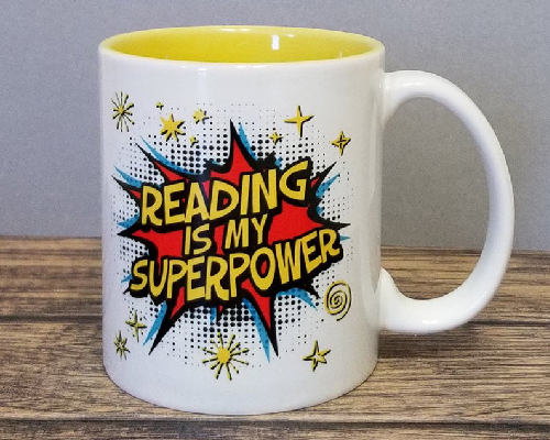 Reading is my Superpower Mug by MugCountry