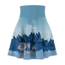 Star Wars Hoth Pattern Skirt