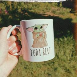 Star Wars Yoda best mug