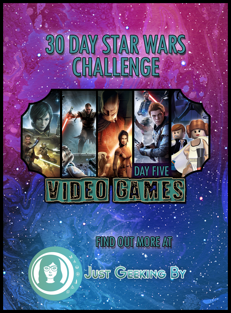 It's Revenge of the 5th and day 5 of my Star Wars challenge. I'm sharing my thoughts on Star Wars video games; what I liked, disliked & what's next!