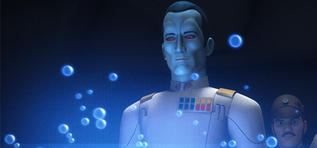 Star Wars Challenge: Imperial Characters - Grand Admiral Thrawn