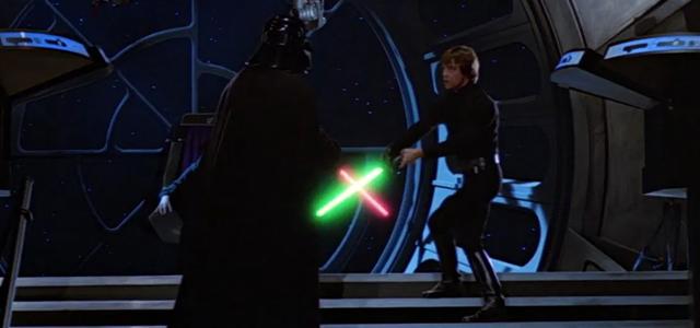 Star Wars Challenge: Lightsaber Battles - Return of the Jedi: Luke Skywalker Vs. Darth Vader & The Emperor