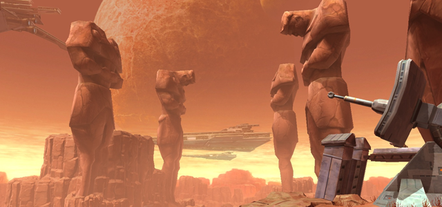 Star Wars Challenge: Planets - Korriban