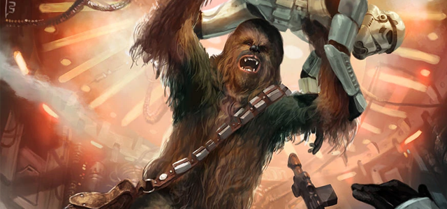 Star Wars Challenge: Favourite Sidekicks - Chewbacca
