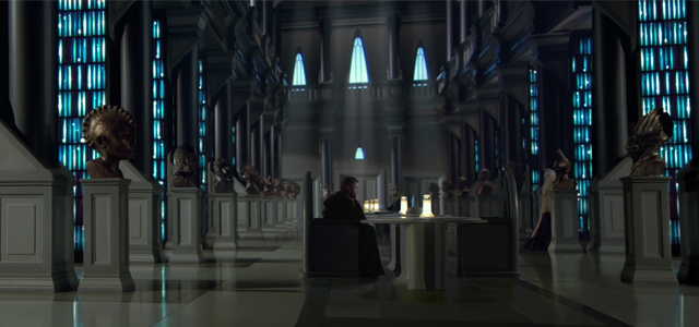 Star Wars Challenge: Locations - Jedi Archives on Coruscant