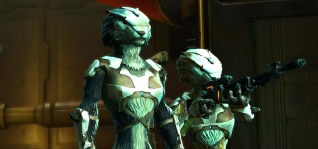 Star Wars Challenge: Aliens - Selonian