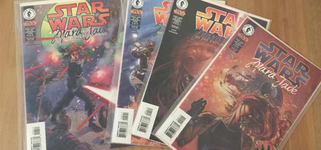 Star Wars Challenge: Merchandise - Mara Jade: By The Emperor's Hand Comics