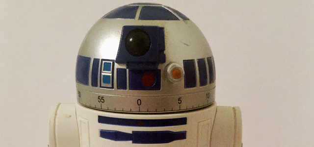 Star Wars Challenge: Merchandise - R2D2 Egg Timer