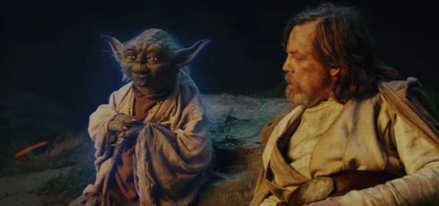 Star Wars Challenge: Scenes - The Last Jedi: Yoda and Luke talk