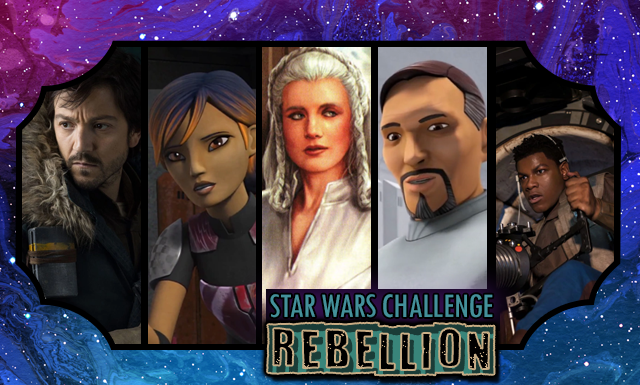 Star Wars Day Challenge: Day 11 - Rebel Characters